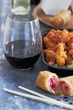 Consider a riesling or malbec when dining on Chinese takeout
