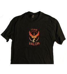 Pokemon Team Valor Embroidered Tee Multicolored Ce12mbbfkll