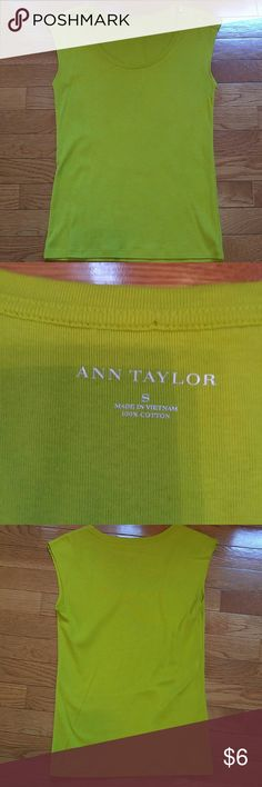 Ann Taylor 100 % cotton tee w/ silver zippers NWOT Ann Taylor Tops Tees - Short Sleeve