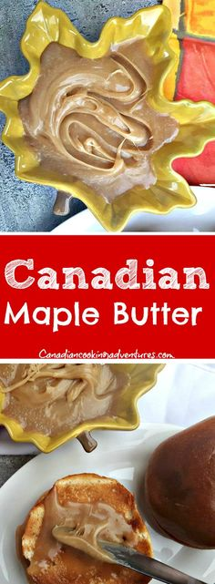 """If you have not tried """"Homemade Canadian Maple Butter"""" then you are sure in for a treat. It's a syrup and butter all in one with no other artificial fillers! Growing up we had this in the house as opposed to all those other store bought syrups, Canadian Maple, Canadian Food, Canadian Recipes, Canadian Pancakes, Canadian Dishes, Fun Easy Recipes, Easy Meals, Game Recipes, Mexican Food Recipes"""