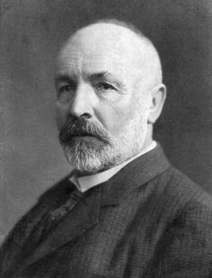 Georg Cantor (1845 - 1918). The great mathematician who dared to go where no other mathematician had gone before - into the realm of varying infinities.