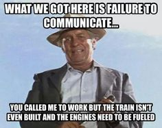 Everytime! Railroad Humor