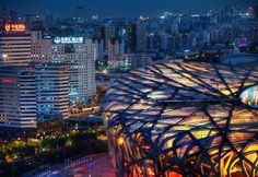 Bird Nest, Beijing Olympics From #treyratcliff at www.StuckInCustoms.com  - all images Creative Commons Noncommercial.