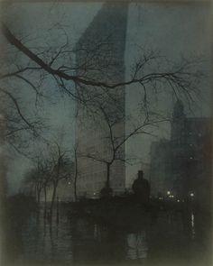 Edward Steichen Edward, Flatiron-evening,1906