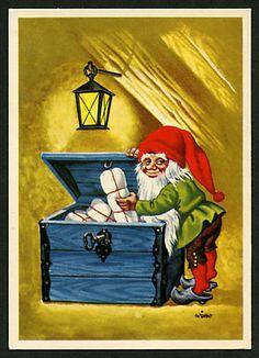Wimo Christmas Gnome, Merry Christmas, Treasure Maps, Leprechaun, Fantasy Creatures, Goblin, Winter Holidays, Faeries, Troll