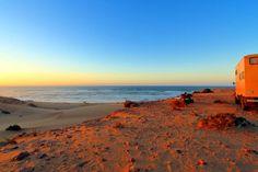 Marokko, Küstenstellplatz