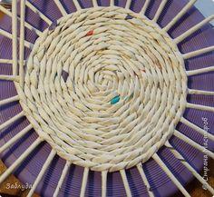Мастер-класс Материалы и инструменты Плетение Кругляш из точки  Трубочки бумажные фото 1