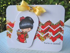 You're so Sweet | Wahine Inks...**** Sister Stamps available from www.hankodesigns.com