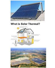 Solar Thermal Power systems, also recognized& identified as Concentrating #Solar  #Power #systems, use focused solar radiation as an extraordinary temperature