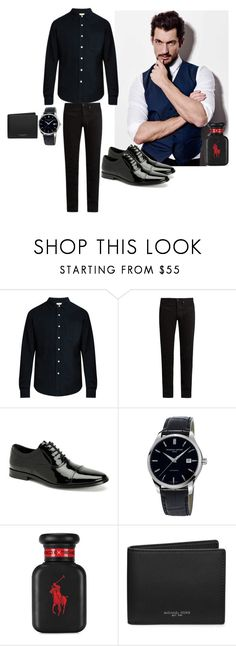 """Men Outfit"" by emily25921 ❤ liked on Polyvore featuring Simon Miller, KURO, Calvin Klein, Frédérique Constant, Ralph Lauren, Michael Kors, men's fashion and menswear"