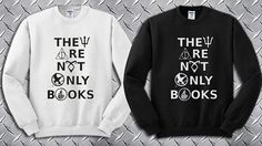 They Are Not Only Books Custom Crewneck by deandersenshop on Etsy