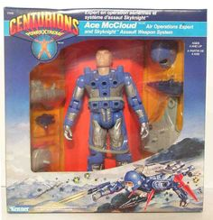 """Ace McCloud, the air operations specialist from the """"Centurions"""" line of toys"""