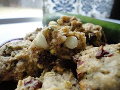 this hungry mama bakes: White Chocolate & Dried Cranberry Zucchini Cookies