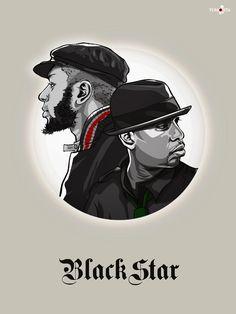 BlackStar. TalibKweli, MosDef #Hiphop #Music