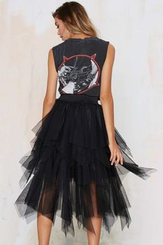 Black Layered Tutu  ///