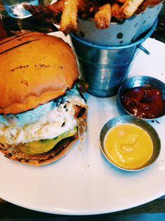 Tico Cheeseburger w/ fried egg!