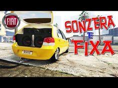 """PALIO ELX 1.8 com SONZERA' REBAIXADO NA FIXA +ARO 17"""" - GTA V (MOD CARRO..."""