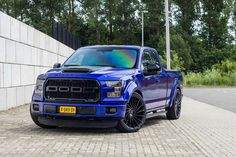 Lowered Ford F-150