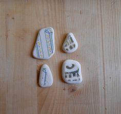 Sea pottery ceramica di mare bianca disegni di lepropostedimari, €8.50
