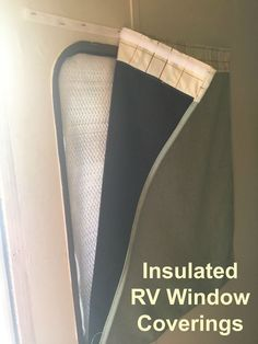 Awesome How To! Insulated RV Window Coverings