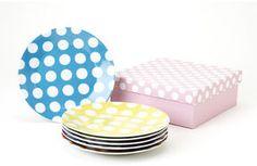 ShopStyle: Yedi Houseware White Dots Dessert Plate Set 6 x $32