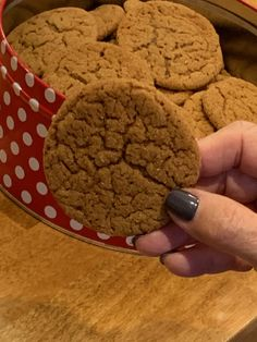 These molasses cookies are the best and a Christmas tradition. Give them a try! I promise you won't regret it!