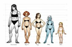May 2017 - Enjoy a collection of references for Character Design: Female Anatomy. The collection contains illustrations, sketches, model sheets and tutorials. Character Design Cartoon, Character Design References, Character Drawing, Character Design Inspiration, Human Figure Drawing, Figure Drawing Reference, Female Reference, Anatomy Reference, Female Drawing