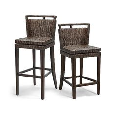 Caicos Swivel Bar and Counter Stools