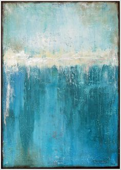 """""""kissing the cold"""" acrylic on canvas by Stella Hettner"""