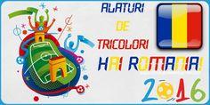 Alaturi de tricolori. Hai Romania! Romania, Euro, Games, Plays, Gaming, Game, Toys, Spelling