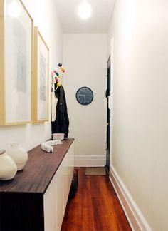 Via Manhattan Nest | Hallway | Midcentury | Eames Hang it All (http://www.cimmermann.co.uk/product/hang_it_all/)