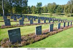 Cannock Chase German Military Cemetery Cannock Staffordshire UK - Stock Image