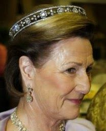 Tiara Mania: Maltese Cross Tiara worn by Queen Sonja of Norway