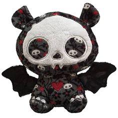 Skelanimals Diego (Bat) 6-Inch Beanie Plush