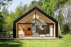 Arkitekturen som gir deg (nesten) hele Nord-Norge i fanget Modern Barn House, Barn House Plans, Roof Extension, Next At Home, Architecture, Gazebo, Tent, Shed, Outdoor Structures