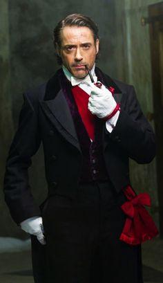 Robert Downey Jr. in 'Sherlock Holmes: Game of Shadows' (2011). Costume Designer: Jenny Beavan