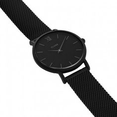 CLUSE Minuit Full Black horloge CL30008
