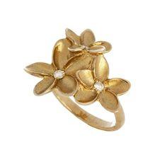 Frangipani Cluster Ring   JewelStreet US
