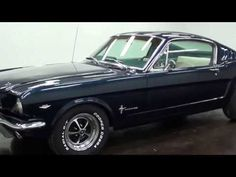 1965 Ford Mustang Fastback - YouTube
