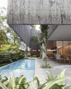 """𝐕𝐎𝐆𝐔𝐄 𝐀𝐑𝐂𝐇𝐈𝐓𝐄𝐂𝐓's Instagram profile post: """"#vogue_architect. Casa Sombra. Designed by @laurenttroost & @belfortgab Located in Manaus, Brazil Photos by @studiofvisual"""""""