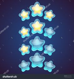 Star Vector Logo Set Icon. Leader Boss, Winner, Rating, Rank, Astrology Symbol, Logotype. - 342447962 : Shutterstock