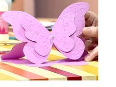 Tarjeta para 15 años – mariposa   Rincón de arte Ice Tray, Silicone Molds, Doodles, Baby Shower, Scrapbook, Diy, Butterfly, Felt, Ideas