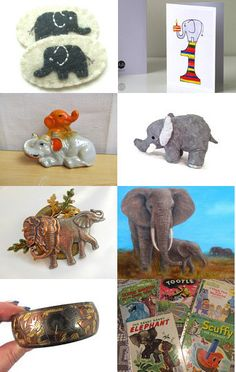 Shiny Happy People Team is Having a 3 day Blitz. The cute Elephant collection is by Melissa from RayMals, she added my Little Golden Books. Take a Look!