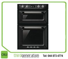The #Smeg double oven is perfect for your kitchen. It comes with 10 functions including a circular element with fan. Available from #ThirdGenerationCAW.