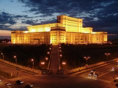 World's Most Impressive Buildings - World's Largest Civilian Administrative Building, World's Most Expensive Administrative Building and World's Heaviest Building -  Palace of the Parliament, Bucharest, Romania