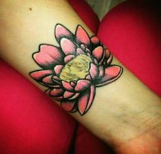 #lotusflower #lotus #pink #black #tattoo #ink #mytattoo