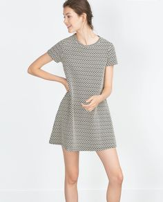 JACQUARD DRESS - View all - Dresses - WOMAN | ZARA United Kingdom