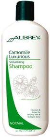 Aubrey Organics Camomile Luxurious Volumising Shampoo for normal, fine & limp hair. Your day in the sun. Step out of the shadows and give your hair a lift with this lightly fragrant volumising shampoo. Luxurious golden camomile formula builds body and brings out natural highlights as it cleanses for fullness, bounce and radiant shine. http://www.theremustbeabetterway.co.uk/aubrey-organics-camomile-luxurious-volumising-shampoo.html