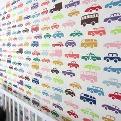 Cutting Edge Stencils - Cars Allover Stencil