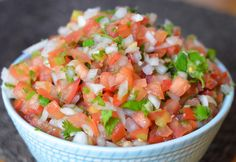 Homemade Pico de Gallo Salsa via @lucismorsels
